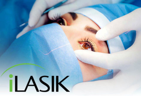 Laser eye surgery iLasik in Turkey