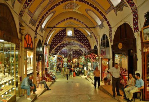 The covered Grand Bazaar